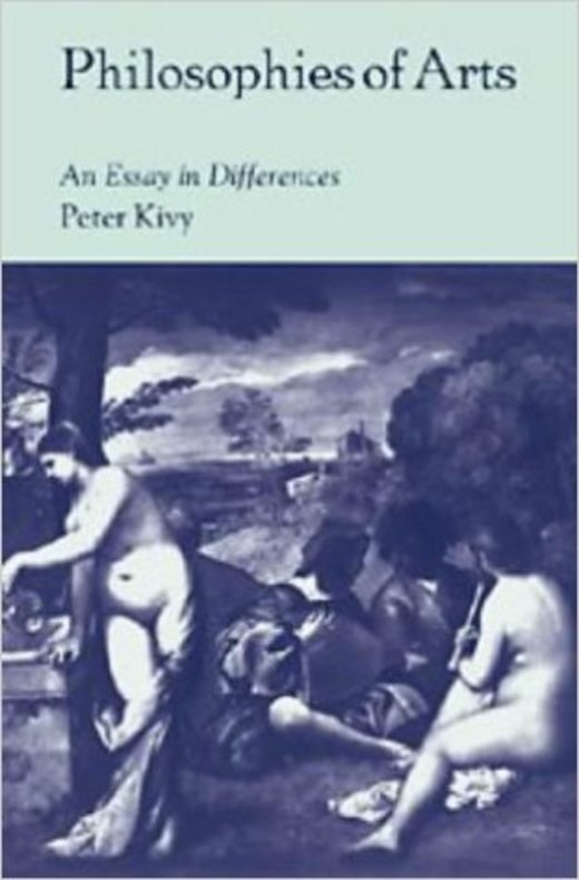 Philosophies of Arts - An Essay in Differences