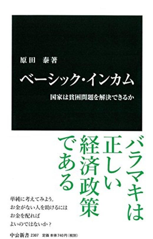 ベーシック・インカム - 国家は貧困問題を解決できるか (中公新書)