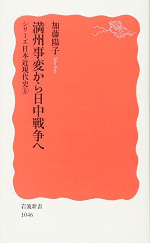 満州事変から日中戦争へ―シリーズ日本近現代史〈5〉 (岩波新書)