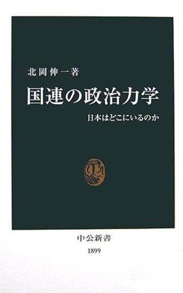 国連の政治力学―日本はどこにいるのか (中公新書)
