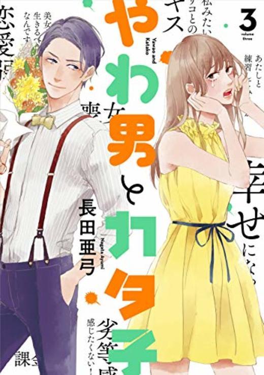 やわ男とカタ子 3 (FEELコミックス)