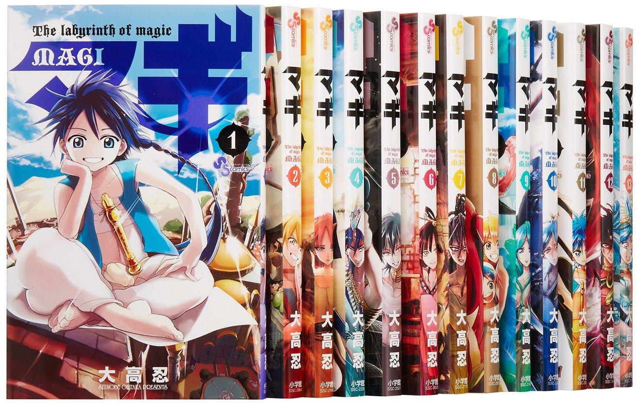 漫画『マギ』キャラクター強さランキングベスト40!2位はアラジン