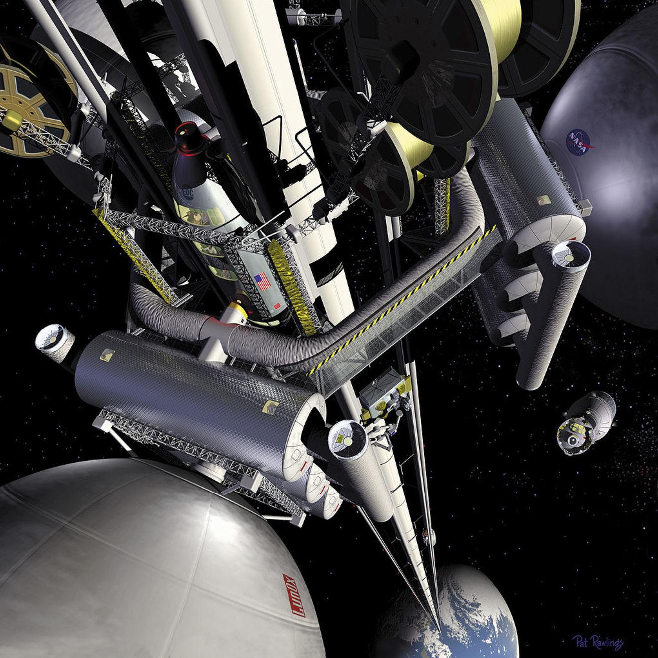 5分でわかる宇宙エレベーター!いつできる?仕組みや課題、メリットを解説!