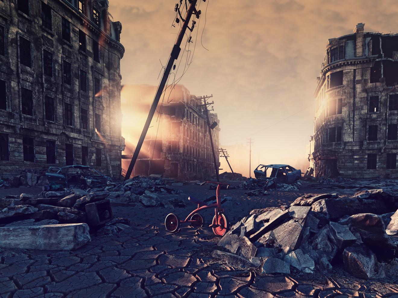 小説『移動都市』が面白い!シリーズ全編ネタバレ解説!異色のファンタジー