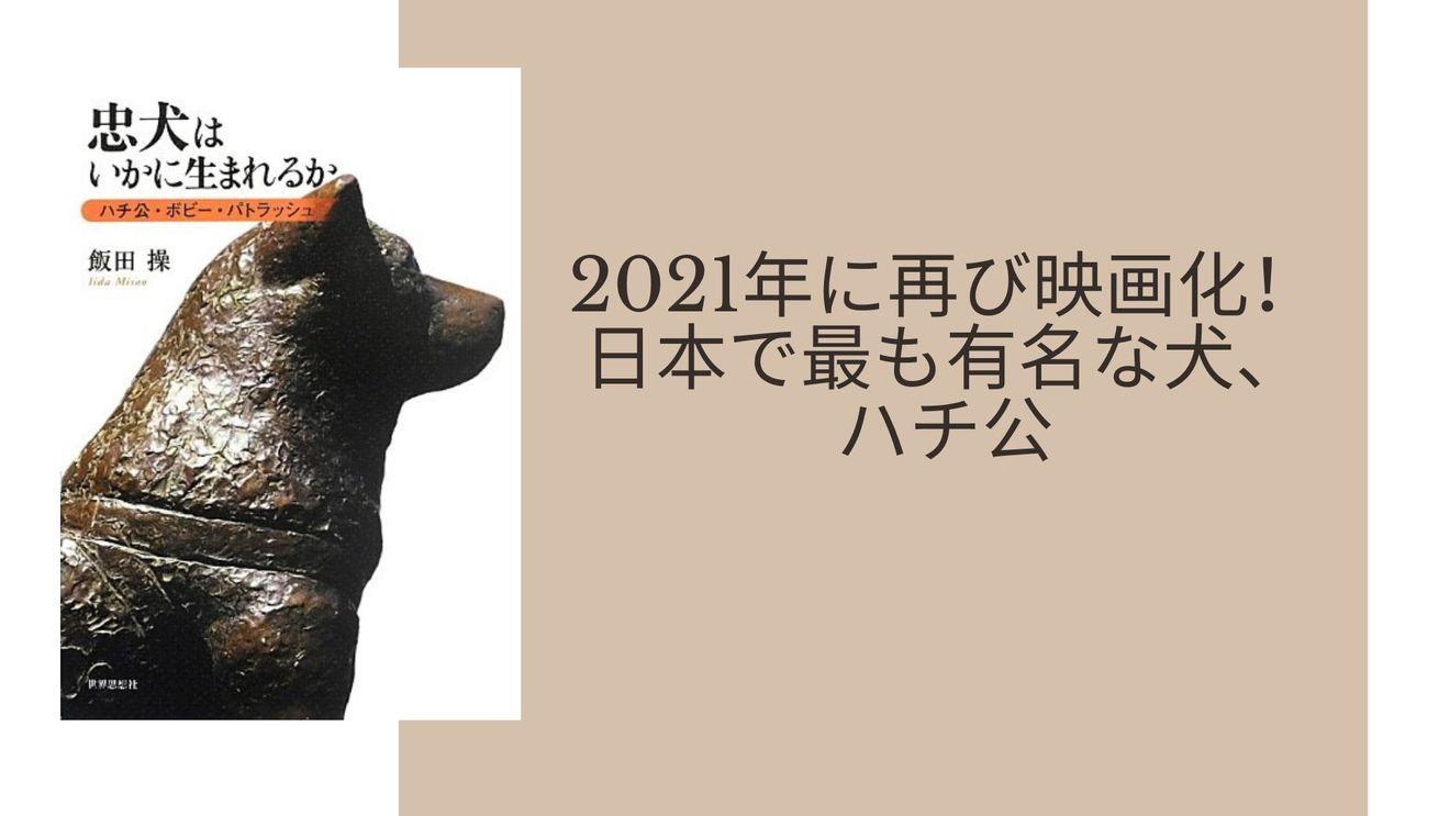 ハチ公の意外な7つの事実!渋谷の像は2代目?おすすめの本、漫画も紹介