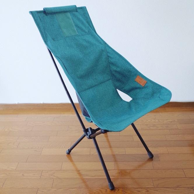 折りたたみ椅子(ヘリノックスのサンセットチェア)