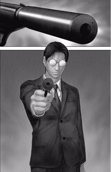 闇に通じる警官、加藤