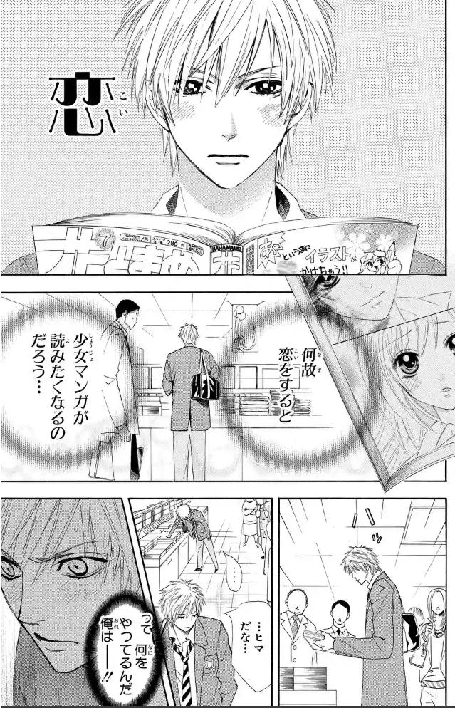 漫画『オトメン(乙男)』あらすじ