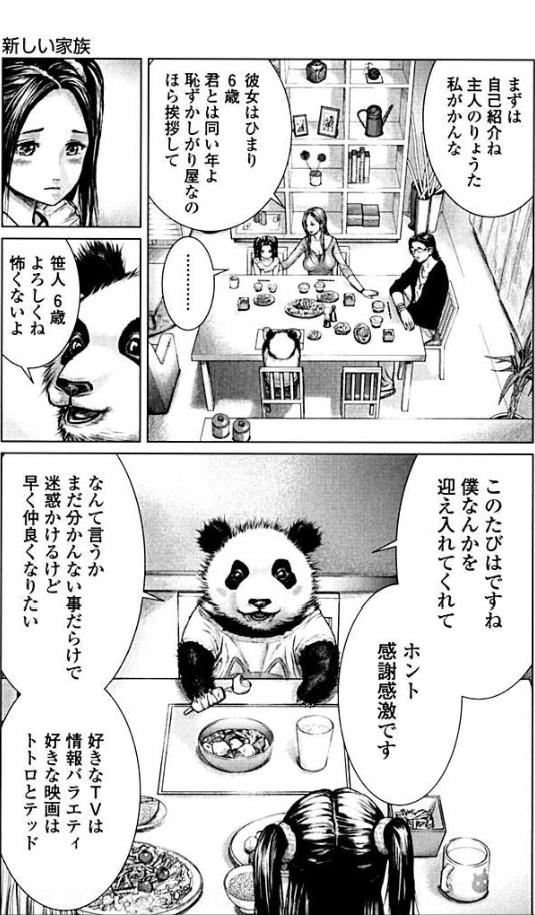 魅力1:パンダが喋る!?