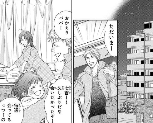 漫画「ホリデイラブ」登場人物3:かすがい役として健気な娘【高森七香】