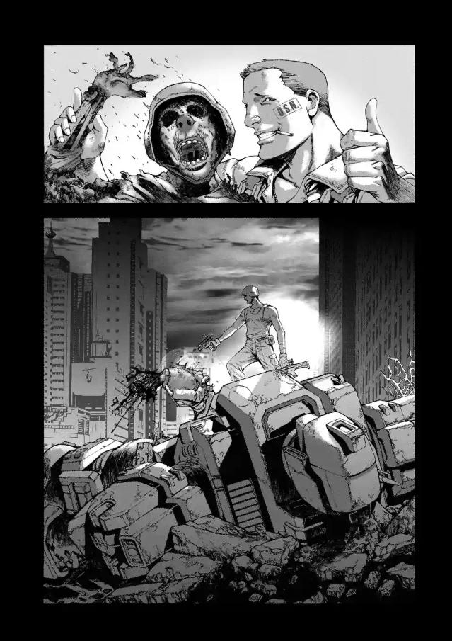漫画『FRONT MISSION DOG LIFE & DOG STYLE』の魅力2:壊れていく人たち