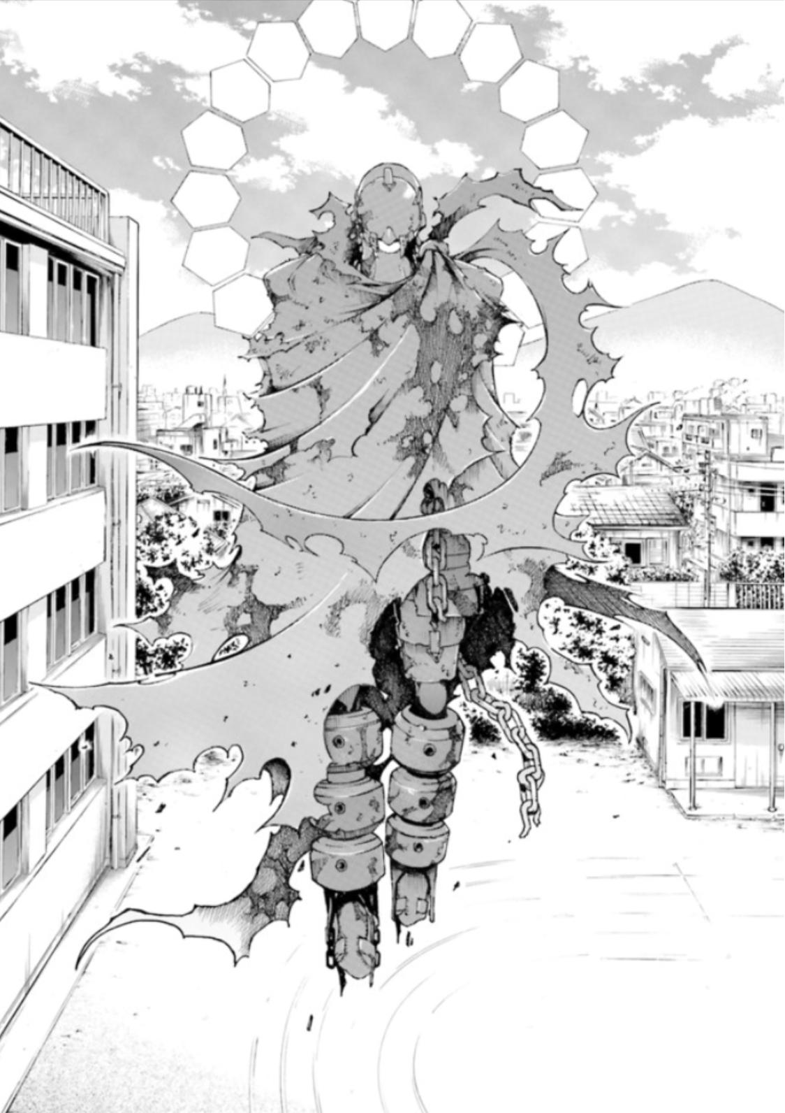 漫画『デッドマン・ワンダーランド』の登場人物:赤い男