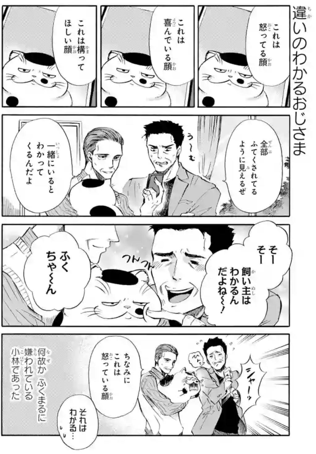 漫画『おじさまと猫』の魅力6:番外編もおもしろい!