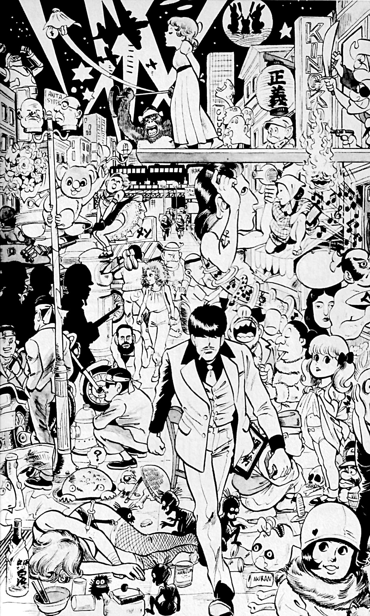 『マカロニほうれん荘』の事実9:うつくしく丁寧な画稿は何と1人で!