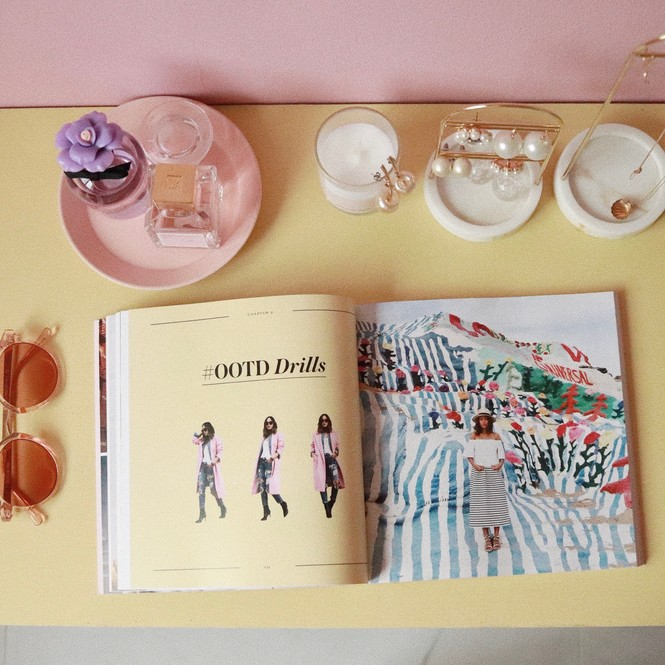Instagramの女王の本は、勉強になることがたくさん!