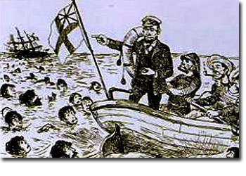 ノルマントン号事件の風刺画を描いたビゴーとは