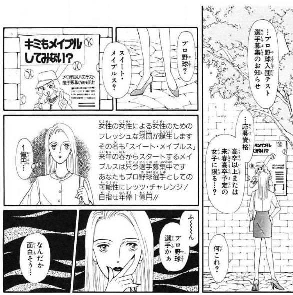23.『メイプル戦記』(完結済み)【スポーツ・野球漫画】